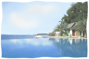 Acuatico Beach Resort - Infinity Pool View